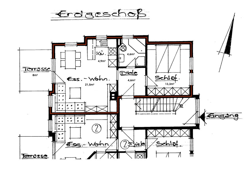 exklusive 2-Zimmer- Ferienwohnung in Oberstaufen, Oberstaufen Fewo
